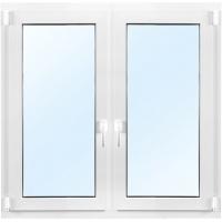 3-glasf�nster PVC - In�tg�ende - 2 luft - U-v�rde 0,96