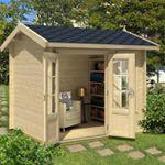 Friggebod Anders B - 5 m² - Skapa din egen lilla oas!