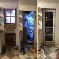 Fönsterdörr 3-glas - Inåtgående med tilt - PVC - U-värde 0,96