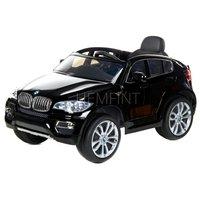 Svart BMW X6 för barn - Med fjärrkontroll