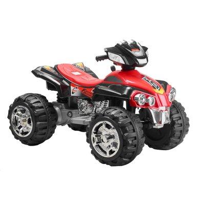 Eldriven fyrhjuling för barn
