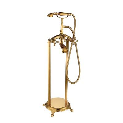Fristående badkarsblandare L008 - Guld