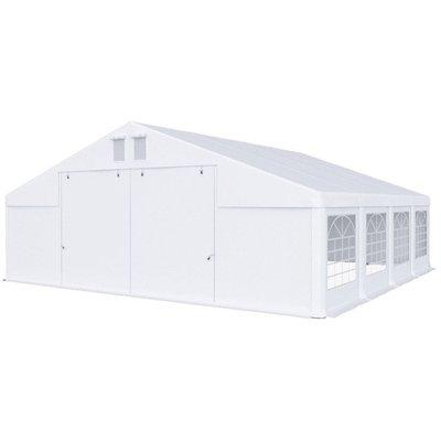 Partytält i PVC - 8 x 8 m
