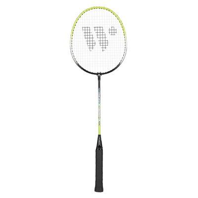 Badmintonracket (grön & svart) STEELTEC 216