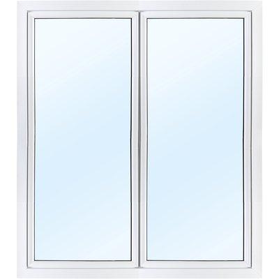 Parfönsterdörr 3-glas - Utåtgående - PVC - U-värde 0,96