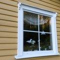 Fast fönster 2-glas - PVC