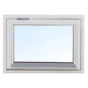3-glas överkantshängt träfönster - 1-Luft