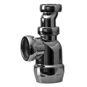Pungvattenlås med sidoutlopp - G32X40 - krom