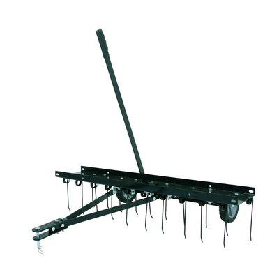 Mossrivare till trädgårdstraktor/åkgräsklippare