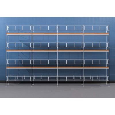 Byggnadsställning HAKI Ram 12x8 m - Stål