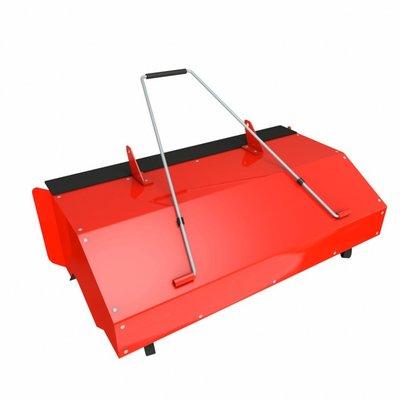 Uppsamlare för sopmaskiner med 100cm borstbredd
