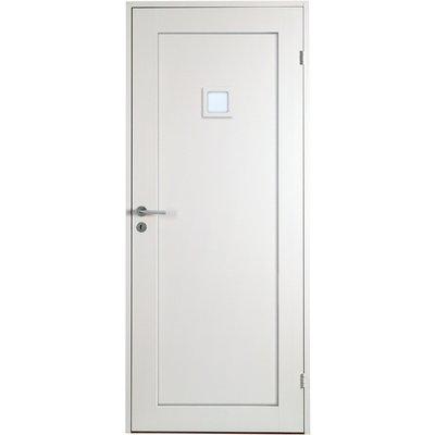 Innerdörr Öland - Massivt dörrblad 1:spegel med litet glasparti
