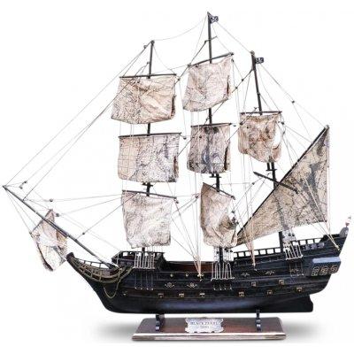 Modellbåt Black Pearl segelbåt - 95 cm