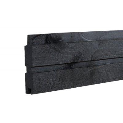 Profilbräda Plank Svart - längd 177 cm