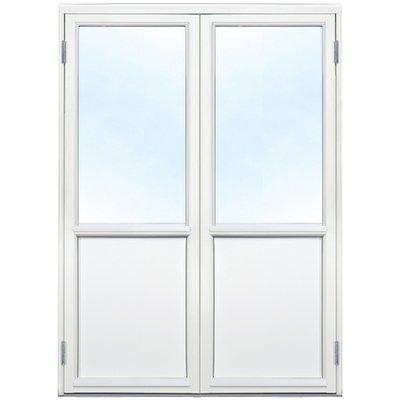Parfönsterdörr - 3-glas - Trä - U-värde: 1,1