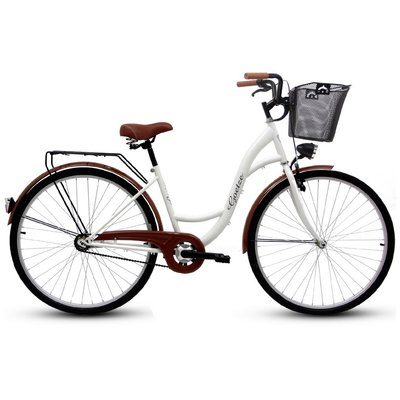 "Cykel Eco 28\\\"" - vit"
