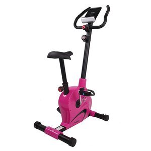 Träningscykel - Magnetisk (M4208) rosa - svart