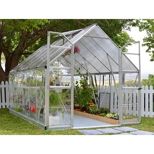 Växthus Balance Silver - 8,8 m² thumbnail
