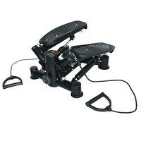 Stepmaskin - Med träningsband & träningsdator (svart S8500)