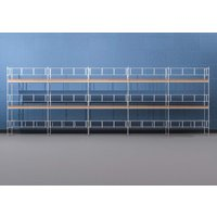 Byggnadsställning HAKI Ram 15x6 m - Stål