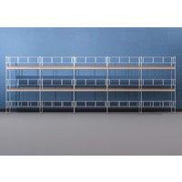 Byggnadsställning HAKI Ram 15x6 m - Aluminium