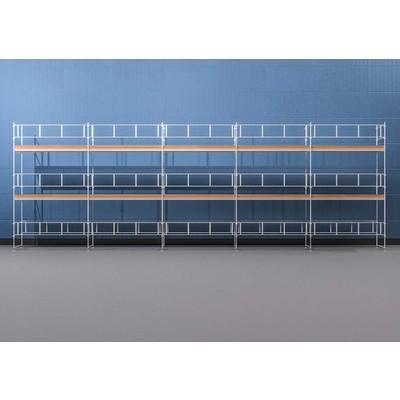 Byggnadsställning Ram 15x6 m - Stål