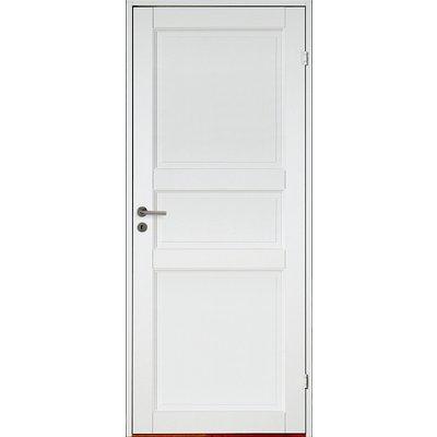 Innerdörr Kungsholmen - Massivt dörrblad med 3:spegel-indelning