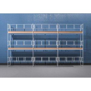 Byggnadsställning Ram 9x6 m - Stål