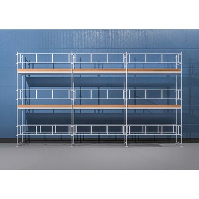 Byggnadsställning HAKI Ram 9x6 m - Aluminium