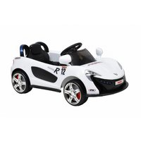 Eldriven sportbil för barn - Vit
