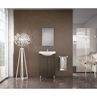 Möbelpaket Bright 55 Line Wenge med spegel