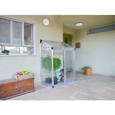 Balkongväxthus Lean - 0,8 m²