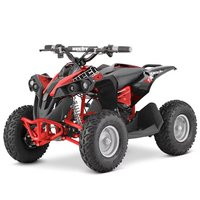 Mini-fyrhjuling Svart & röd - 1060W