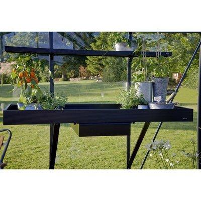 Integrerat växthusbord - 2 sektioner