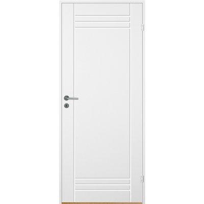 Innerdörr Bornholm - Kompakt dörrblad med spårfräst dekor A2