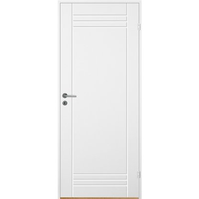 Innerdörr Bornholm - Kompakt - Spårfräst dekor A2