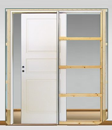 Alternativ till dörr