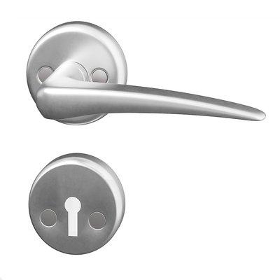 Dörrhandtag innerdörr - Aluminium Bent