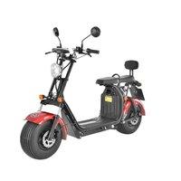 Elscooter 1500 W - röd