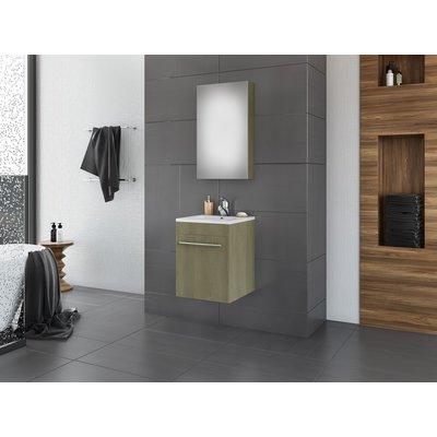 Möbelpaket Snap 40 - Sandfärgat med spegel