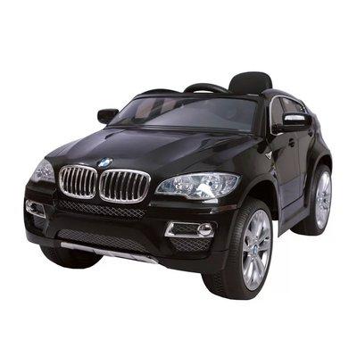 Elbil för barn BMW X6 - svart