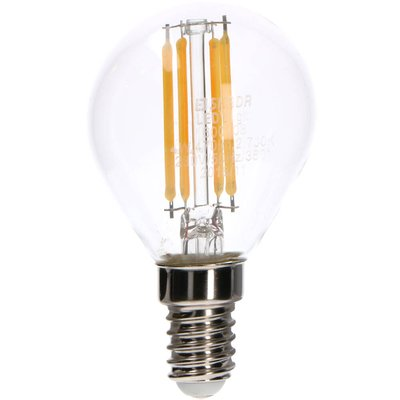 LED lampa G45 E14 470lm 2700K