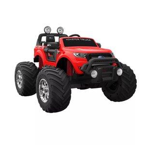 Elbil för barn Ford Ranger MT - röd