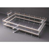 Byggnadsställning HAKI Ram 354m2 - Aluminium