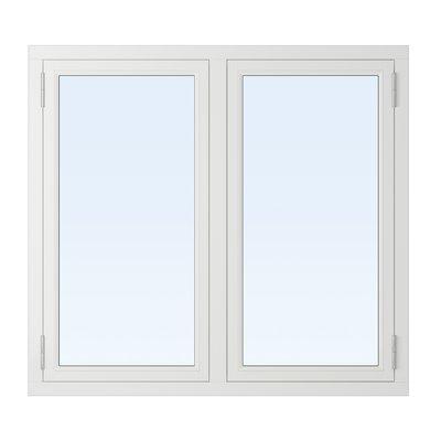 3-glasfönster Trä utåtgående - 2-Luft - U-värde 1,1