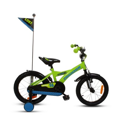 """Cykel D\\\'Goose 16\\\"""" - grön"""