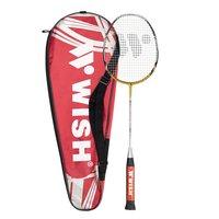 Badmintonracket (guld & silver) TI SMASH 959
