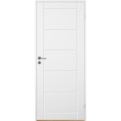 Innerdörr Bornholm - Kompakt dörrblad med spårfräst dekor A6