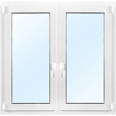 3-glasfönster PVC - Inåtgående - 2 luft - U-värde 0,96