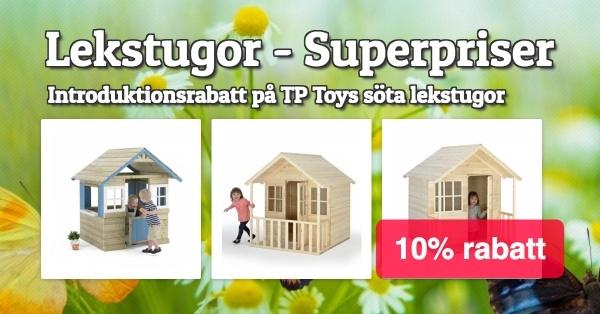 TP Toys Lekstugor Introrabatt 5%